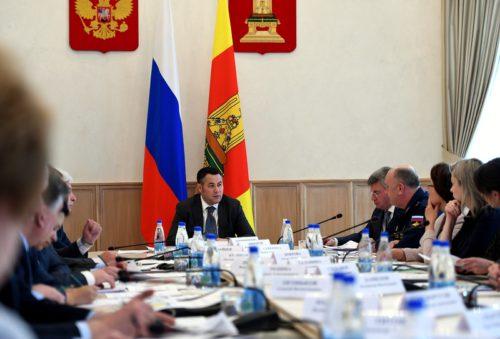 Игорь Руденя провёл заседание оргкомитета «Победа», посвящённое подготовке к празднованию 9 мая в Тверской области