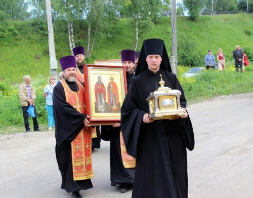 XX Волжский крестный ход прибыл в Старицу