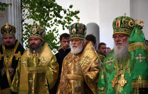 Архиепископ Элистинский и Калмыцкий Юстиниан: С каждым годом Волжский Крестный ход становится масштабней и торжественней