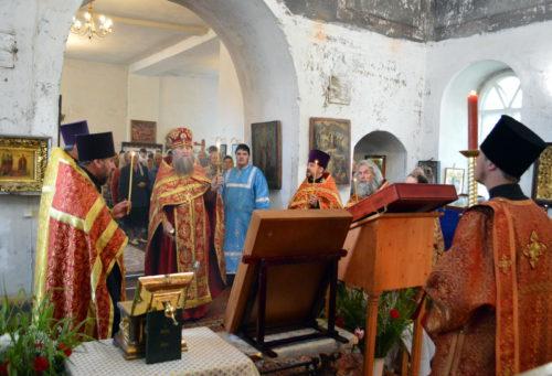 Берново встретило Волжский Крестный ход