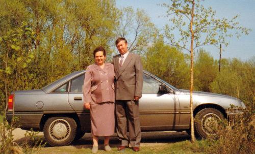 Антонина и Пётр Бурцевы