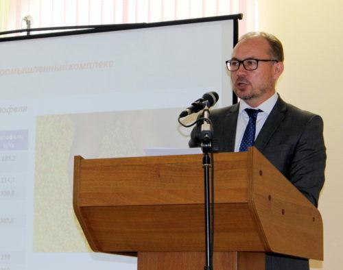 Публичный отчёт главы администрации Старицкого района «О деятельности администрации Старицкого района за 2017 год»