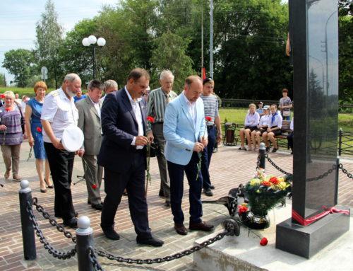 Накануне Дня Военно-морского флота в Старице открыли памятный сквер