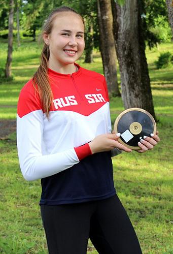 Юлия Коршунова метнула на золото
