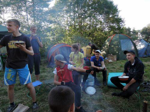 Георгиевцы из Ново-Ямской школы побывали на слёте