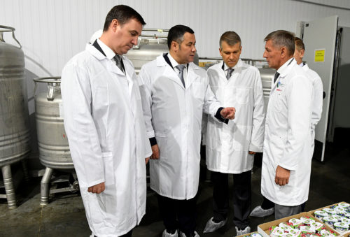 Игорь Руденя и Дмитрий Патрушев обсудили развитие агропромышленного комплекса Тверской области