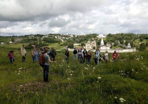 Молодые археологи обследовали Старицкое городище