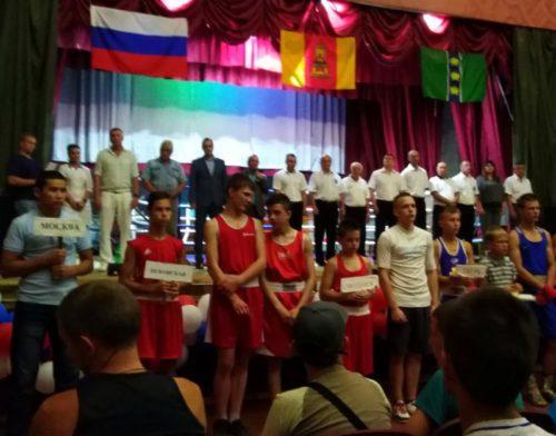 Старицкие боксёры достойно выступили в Кувшинове