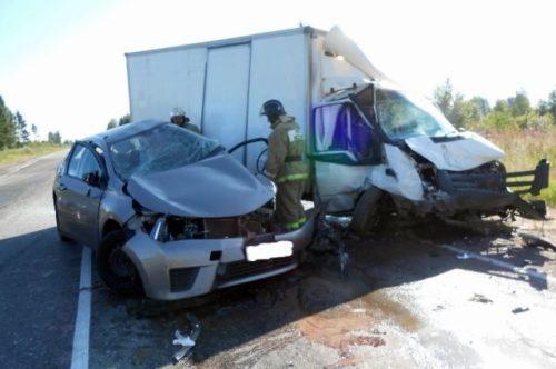 На трассе Тверь-Ржев произошло смертельное ДТП