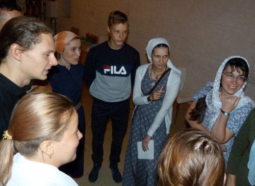 В Старицком Свято-Успенском монастыре проходит форум православной молодёжи