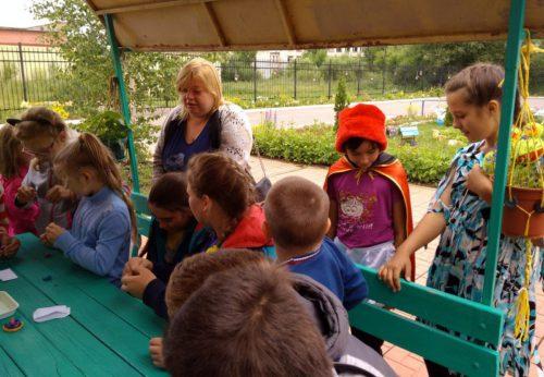 Лето для воспитанников Социально-реабилитационного Центра стало временем позитивных эмоций