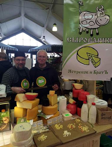 Лучший сыр России делают в Старицком районе