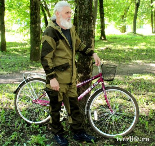 Пенсионер из Тверской области Сергей Сысолятин преодолел маршрут длиной более 4 тысяч километров
