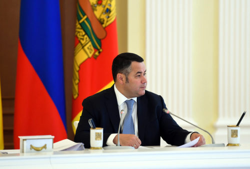Игорь Руденя отмечен в «Губернаторской повестке» с планами по установке систем видеонаблюдения в школах и детсадах