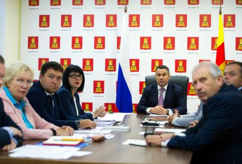 Игорь Руденя принял участие во всероссийском селекторном совещании о ходе подготовки к осенне-зимнему периоду